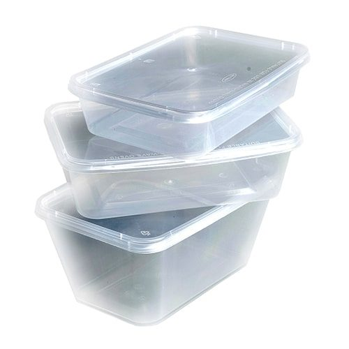 Clear Plastic Containers
