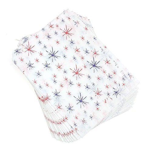 Starburst Paper Bags Strung