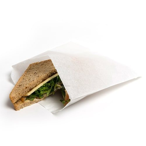 White Sulphite & Greaseproof Bags