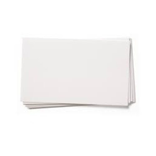 White Pricing Cards